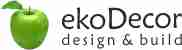 ekoDecor  Design & Build Logo